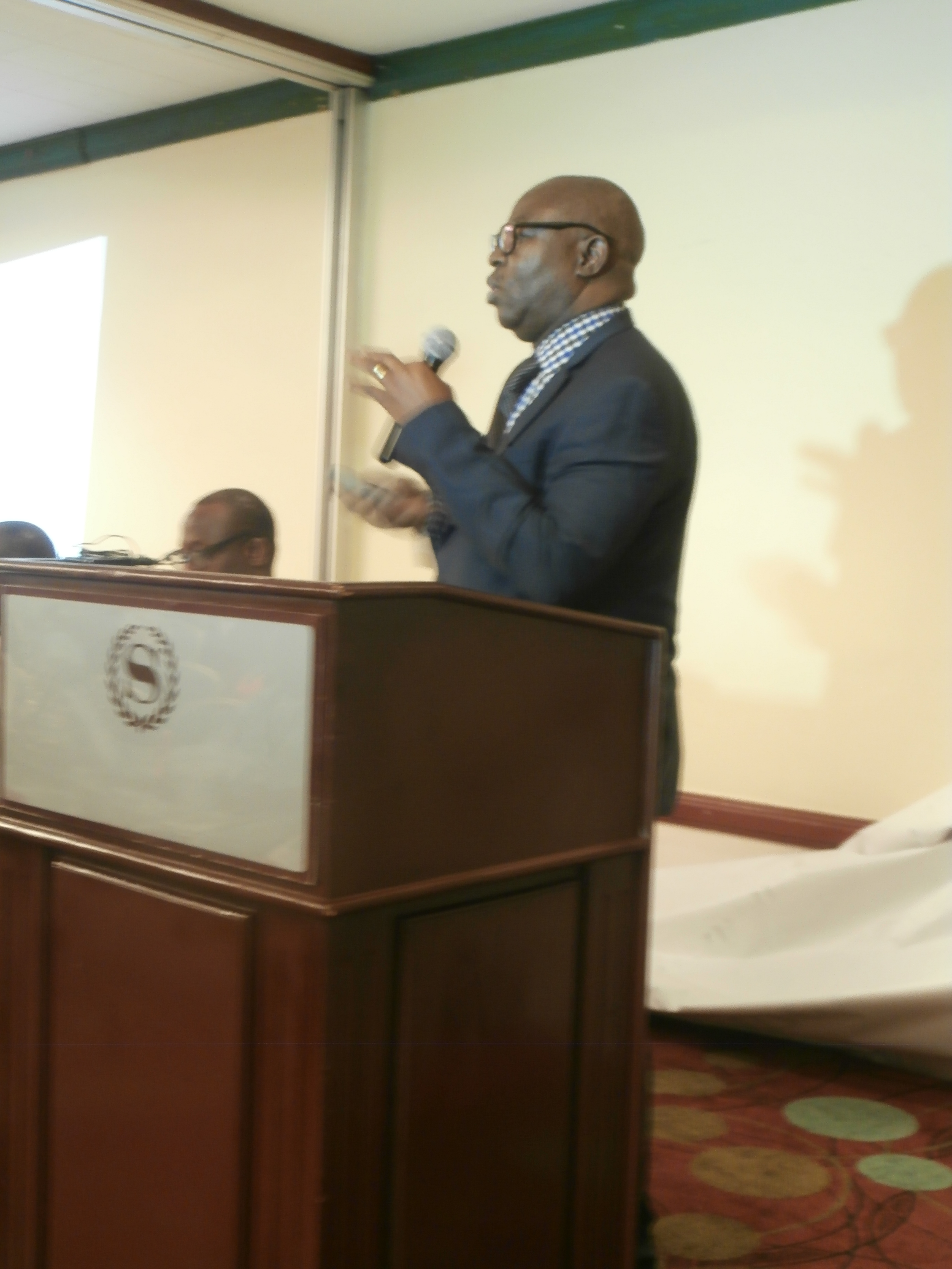 Dr. Rufus Ebegba during his paper presentation
