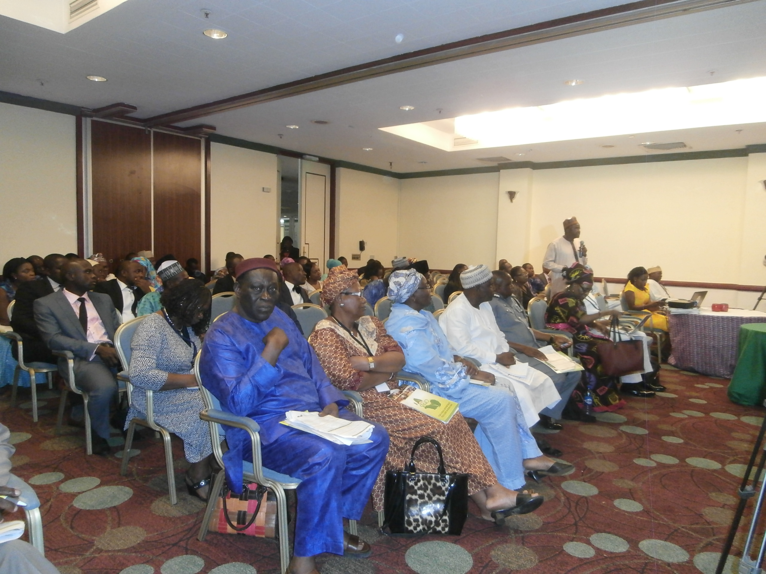 A cross section of participants at the workshop