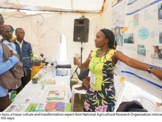 Biotechnology praised at the biggest Agri expo in Uganda