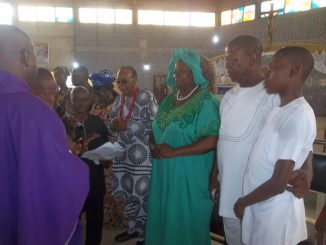 Catholic Church Honours Ed EWHC With Eziada Title